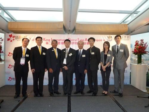 2011-6-3 出席香港牙醫學會第2屆HKIDEAS