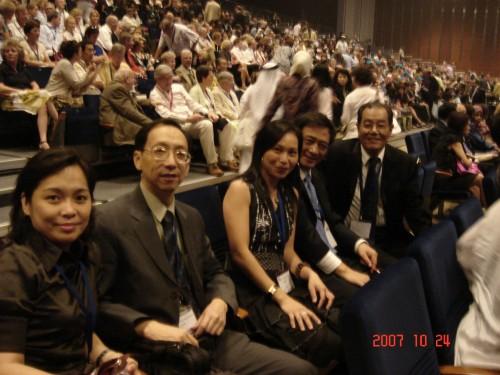 2007-10-23 出席阿聯酋世界牙醫聯盟年會(FDI)