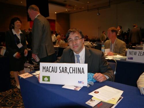 2011-9-14 出席墨西哥世界牙醫聯盟年會(FDI)