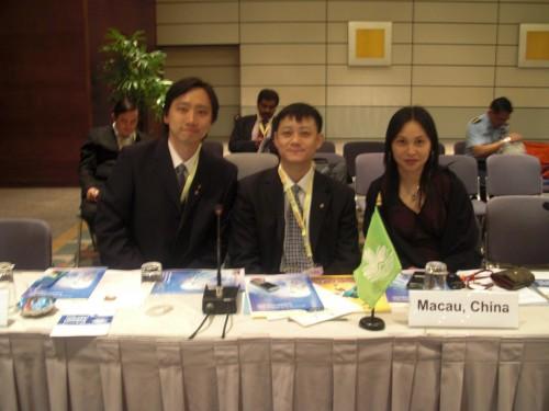 2009-5-8 出席香港第31屆亞太牙科聯盟年會(APDC)