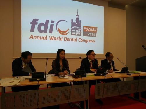 2016-9-7~10 出席2016波蘭世界牙醫聯盟(FDI)年會