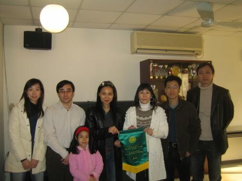 2008-12-7 探訪澳門仁慈堂老人院