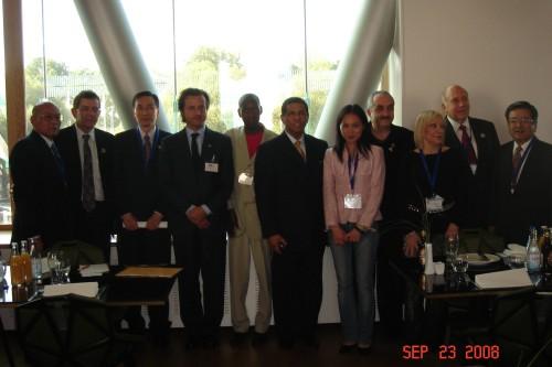2008-8-23 出席瑞典世界牙醫聯盟年會(FDI)